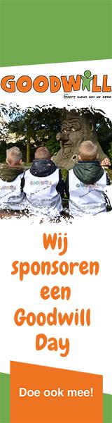 Sponsor de Goodwill Days en help zieke kinderen!