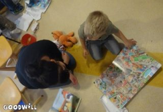 samen een kinderboek lezen