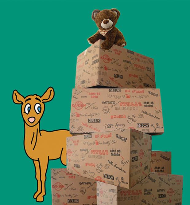 Kinder kerstpakketten actie groot succes