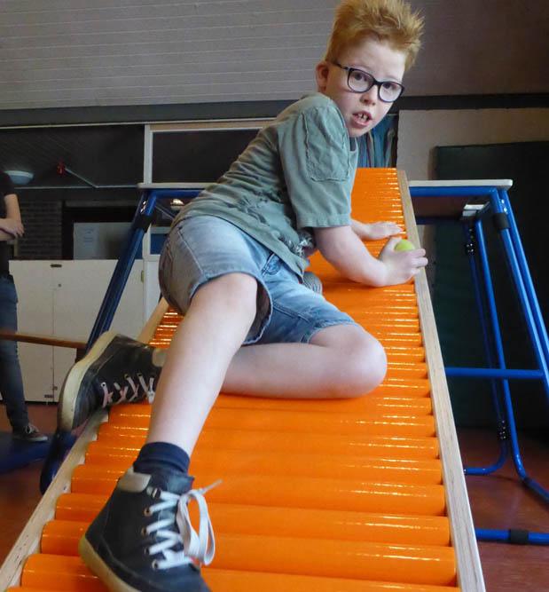 Rollerglijbaan voor 't Overstapje Raamsdonksveer
