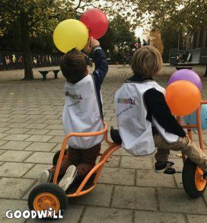 Nieuwe fiets voor groep Dikkie Dik van Youké