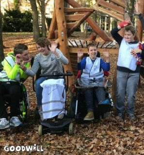 Kinderen met een beperking genieten van een vakantie - Goodwill Day