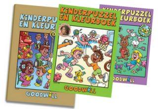 De Kinderpuzzel- en Kleurboeken van Goodwill