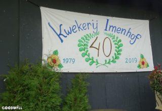 Kwekerij Imenhof bestaat 40 jaar