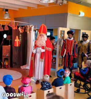 Sint & Pieten komen binnen-Goodwill.nl