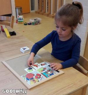 Een nieuwe puzzel om de ontwikkeling van kinderen te stimuleren.