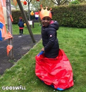 Zaklopen tijdens Koningsspelen Papageno Almere