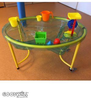 De nieuwe zand- en watertafel voor KDC De Rietpol-Goodwill.nl