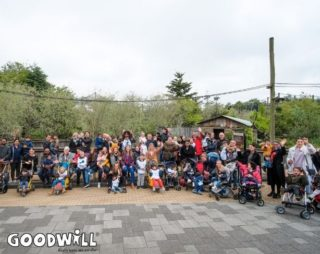 Groepsfoto van MKDV Citykids tijdens hun Goodwill Day